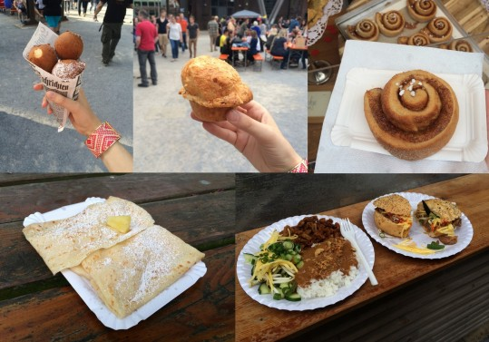 Food Festival Collage