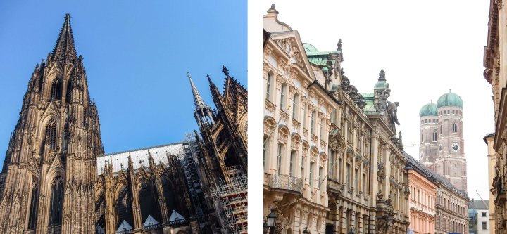 Cologne vs. Munich – the struggle when you love twocities