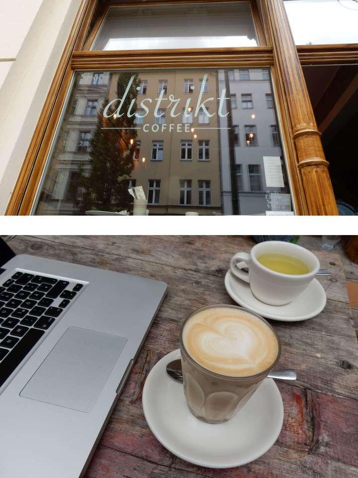 Distrikt Coffee Café Berlin coffee guide