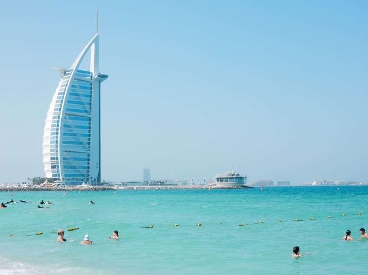 Dubai Beach Burj Al Arab