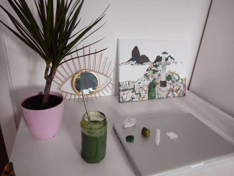 blogger desk inspiration