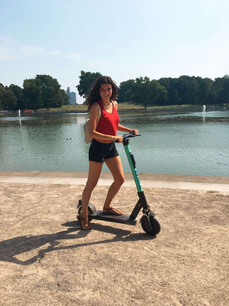 e-scooter summer cologne
