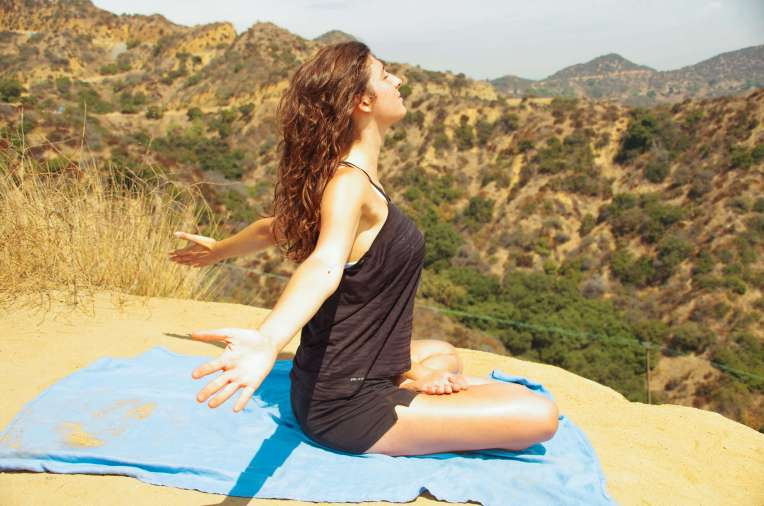 hollywood hills meditation