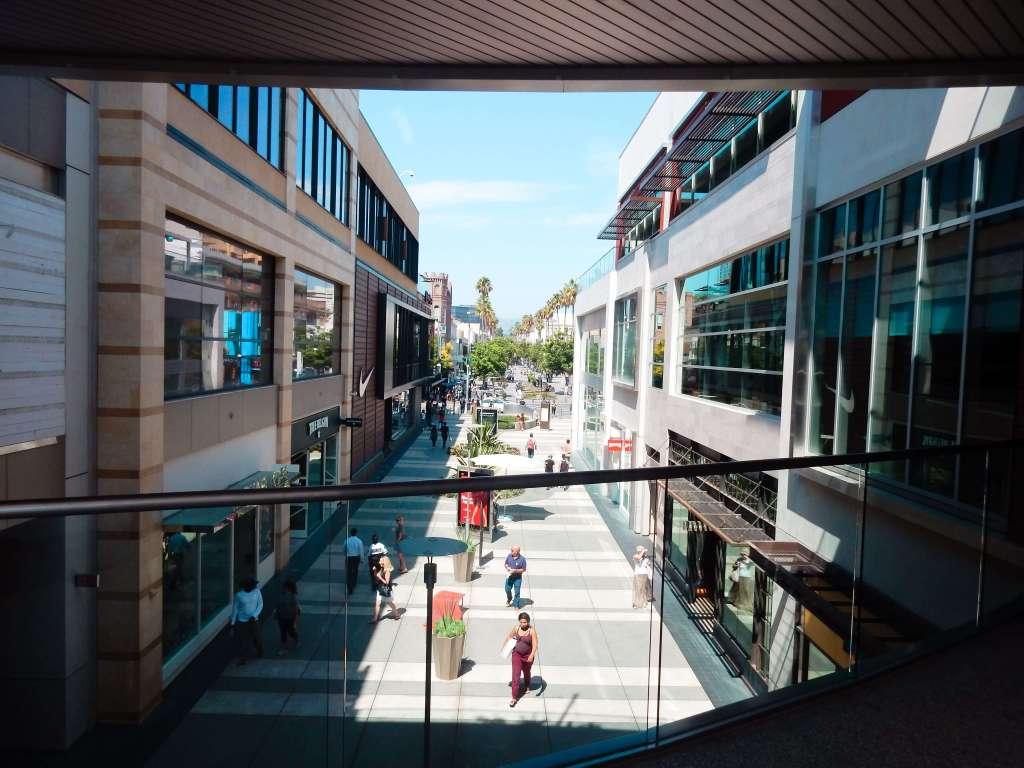 Third Street Promenade Mall, Los Angeles, California
